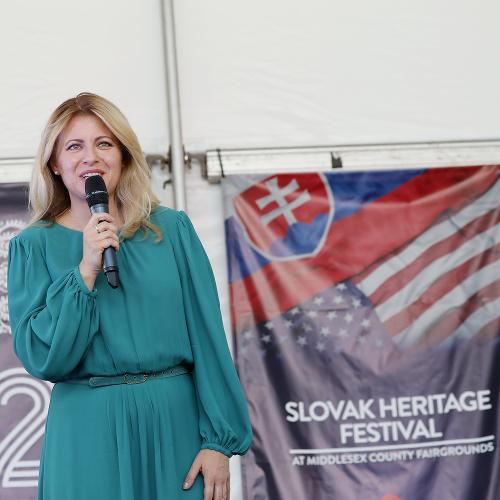 Zuzana Čaputová počas návštevy