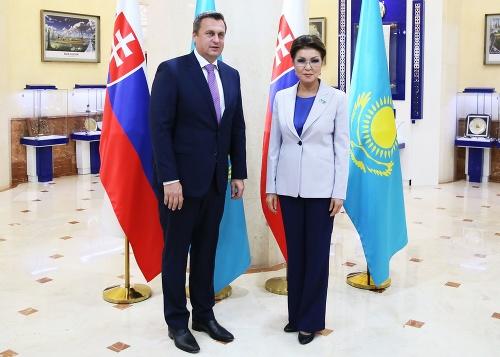 Andrej Danko a predsedníčka