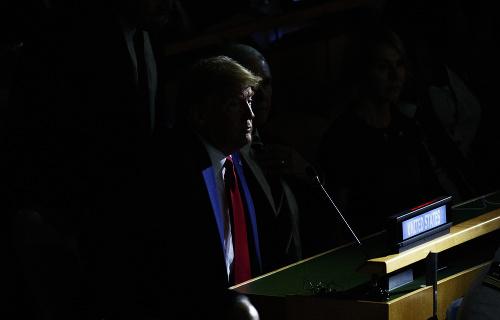 Donald Trump na summite