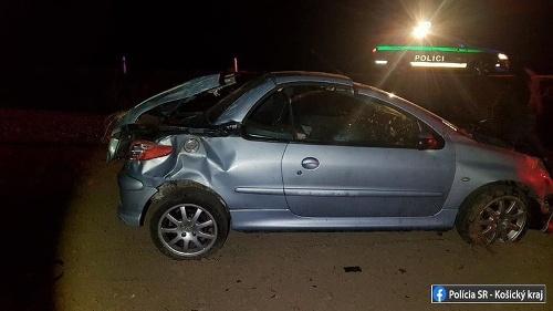 Dopravná nehoda v okrese