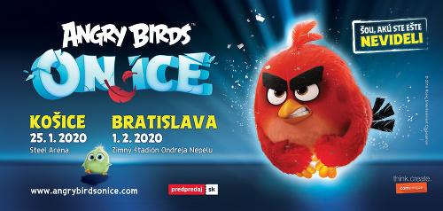 Ľadová šou Angry Birds