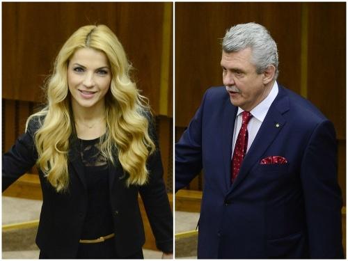 Martina Šimkovičová a Peter