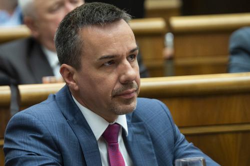 Poslanec Erik Tomáš