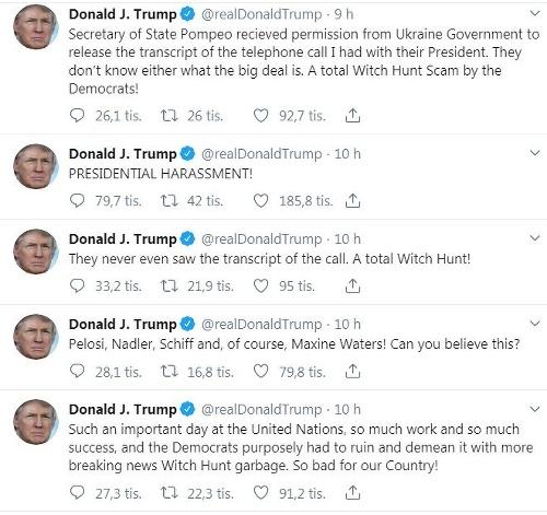 Trump čelí najväčšiemu škandálu