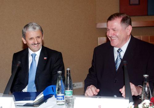 Mikuláš Dzurinda a Vladimír