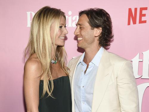 Gwyneth Paltrow s manželom
