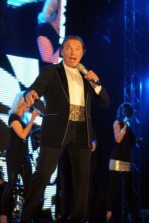Maestro počas svojho koncertného