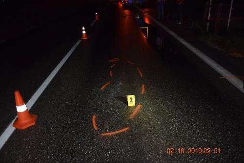 Smrteľná dopravná nehoda v