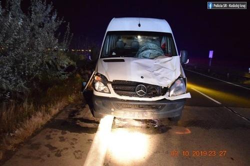 Tragická nehoda v Trebišove.