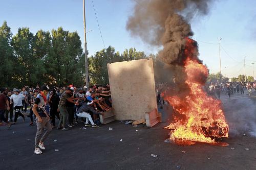 Počet obetí násilných protestov