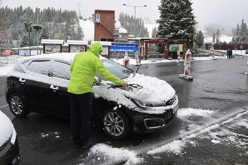 Sneh vo Vysokých Tatrách