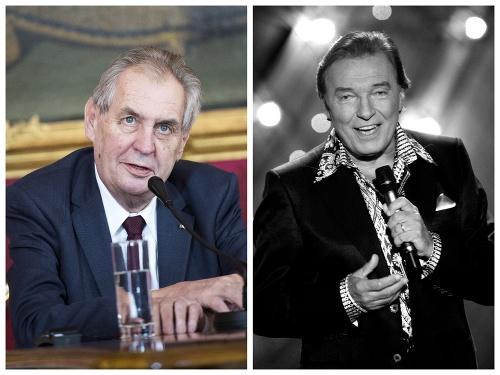 Miloš Zeman a Karel