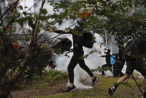 Hongkong zasiahla ďalšia vlna