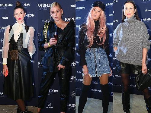 Na módnej akcii Fashion