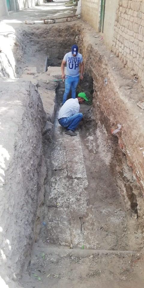 Egyptskí robotníci náhodou objavili