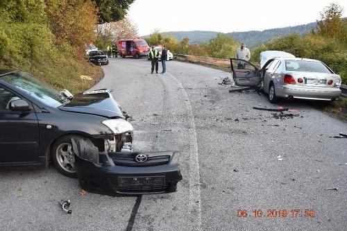 Desivá nehoda za obcou