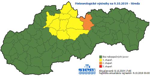 Nová predpoveď meteorológov: VAROVANIE