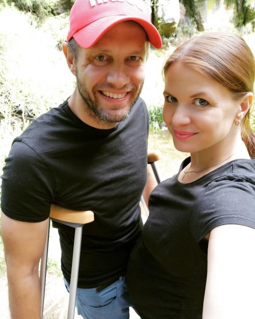 Aneta Stolzová s partnerom