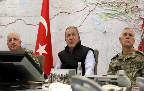 Turecké ministerstvo obrany uvádza,
