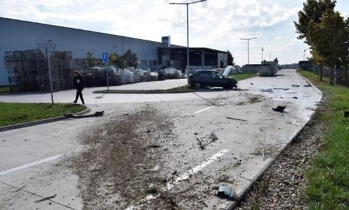 Dopravná nehoda v Nitrianskom