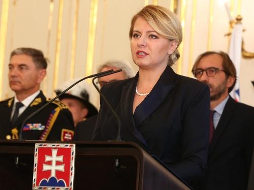 Prezidentka Zuzana Čaputová vymenovala