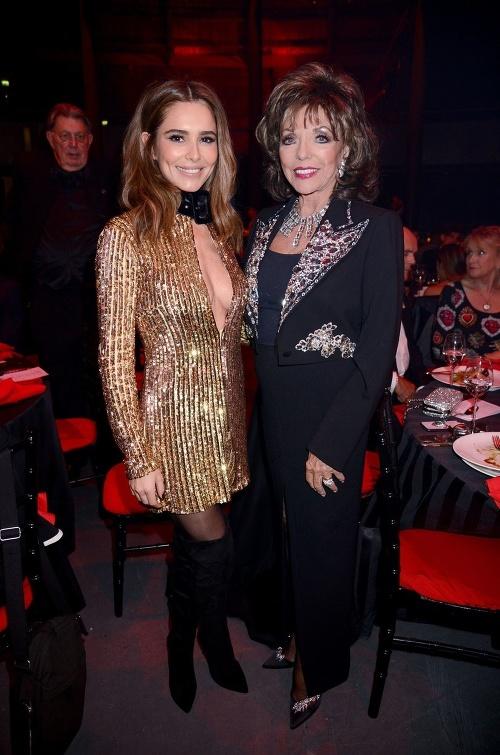 Cheryl Cole and Joan