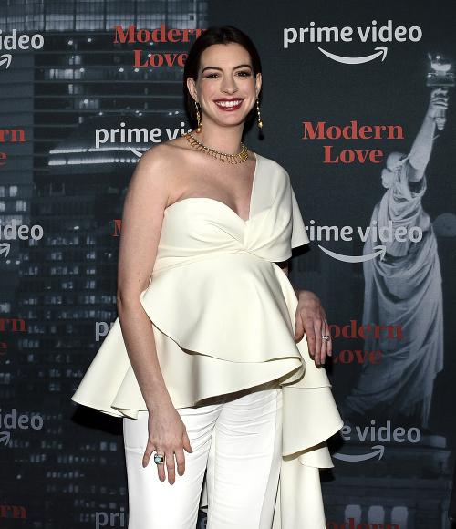 Anne Hathaway na premiére