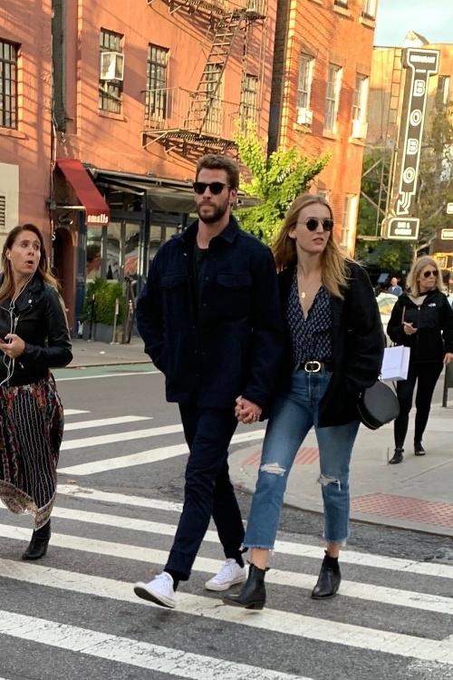 Liam Hemsworth a Maddison