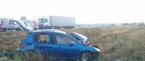 PRÁVE TERAZ Dopravná nehoda
