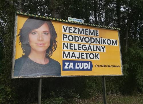 FOTO Bilbordová kampaň v