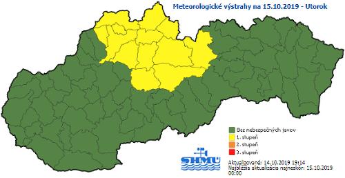 Slovensko zažíva babie leto,