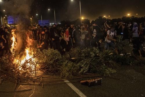 Protesty proti odsúdeniu separatistických