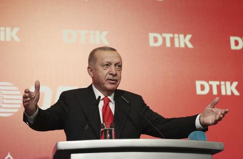 Turecký prezident Recep Tayyip