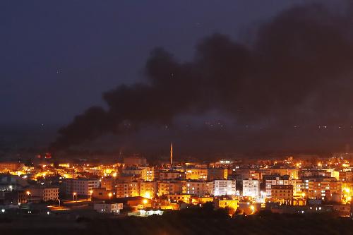 Turecká ofenzíva v Sýrii