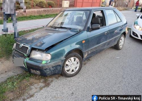 Opitý šofér bez vodičáku