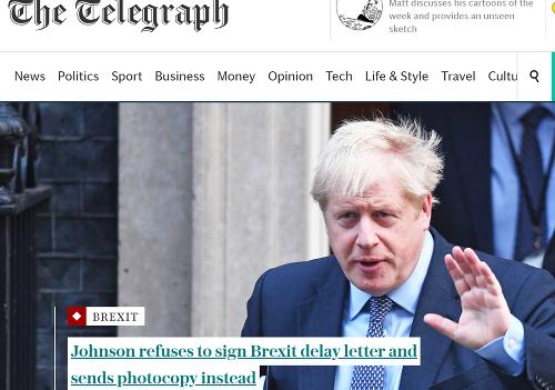 Názory britských médií na