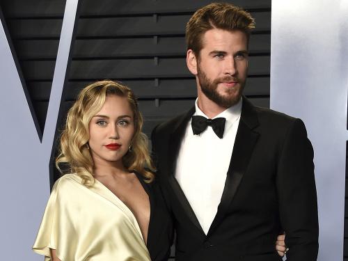 Miley Cyrus a Liam