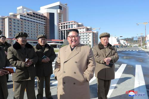 Severpkórejský vodca Kim Čong-un