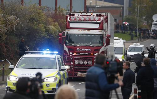 Britský kamión smrti: Polícia