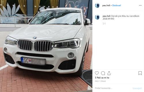 Paul Kike kúpil auto,