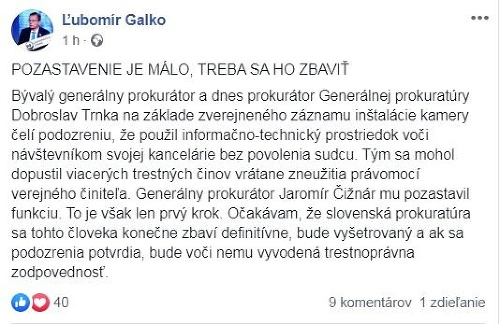AKTUÁLNE Jaromír Čižnár zakročil: