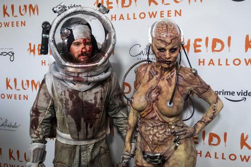 Heidi Klum s manželom