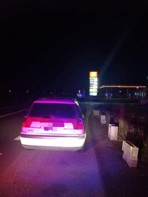 Policajti chytili opitého vodiča.