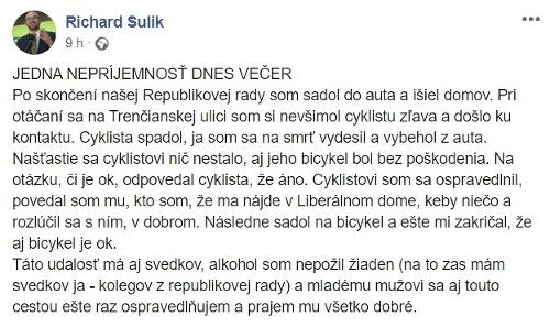 Predseda SaSky v problémoch:
