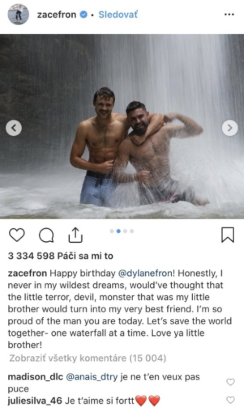 Zac Efron, Dylan Efron
