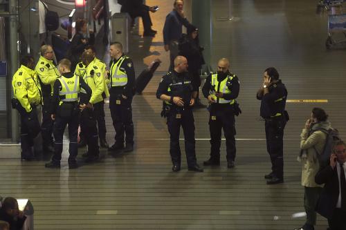 Bezpečnostná hrozba v Amsterdame