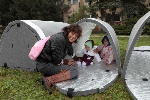 Košickí bezdomovci budú spať