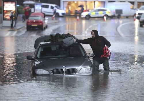 Záplavy v severnom a