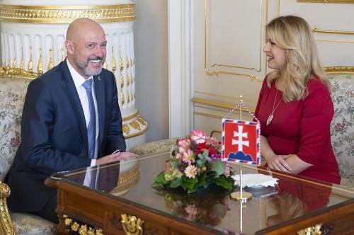 Zuzana Čaputová a prezident