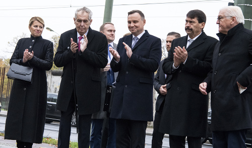 Frank-Walter Steinmeier, János Áder,